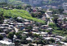 Extrema pobreza en Honduras.