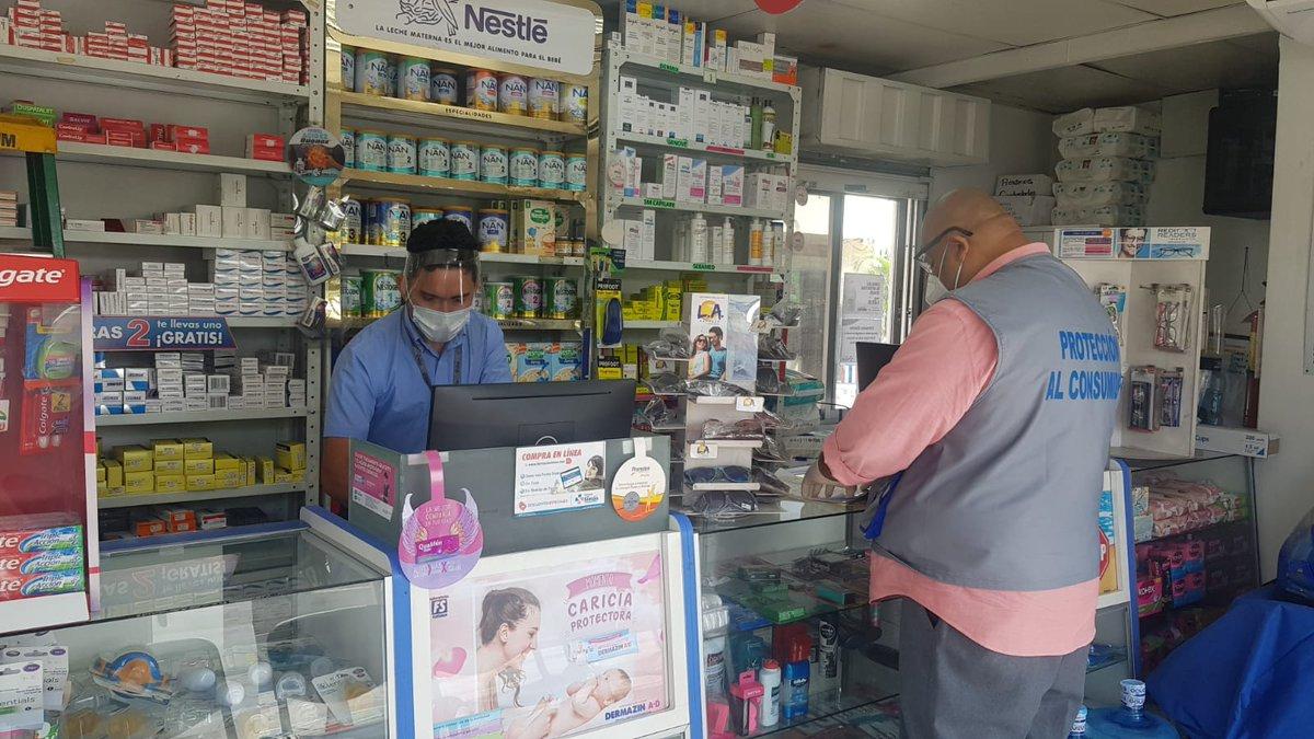 Farmacias entre las empresas que incumplen medidas de bioseguridad, según alcalde de San Pedro Sula