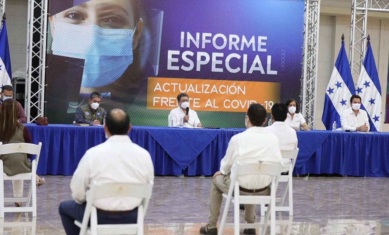 El 8 de junio se reabre la economía en Honduras.