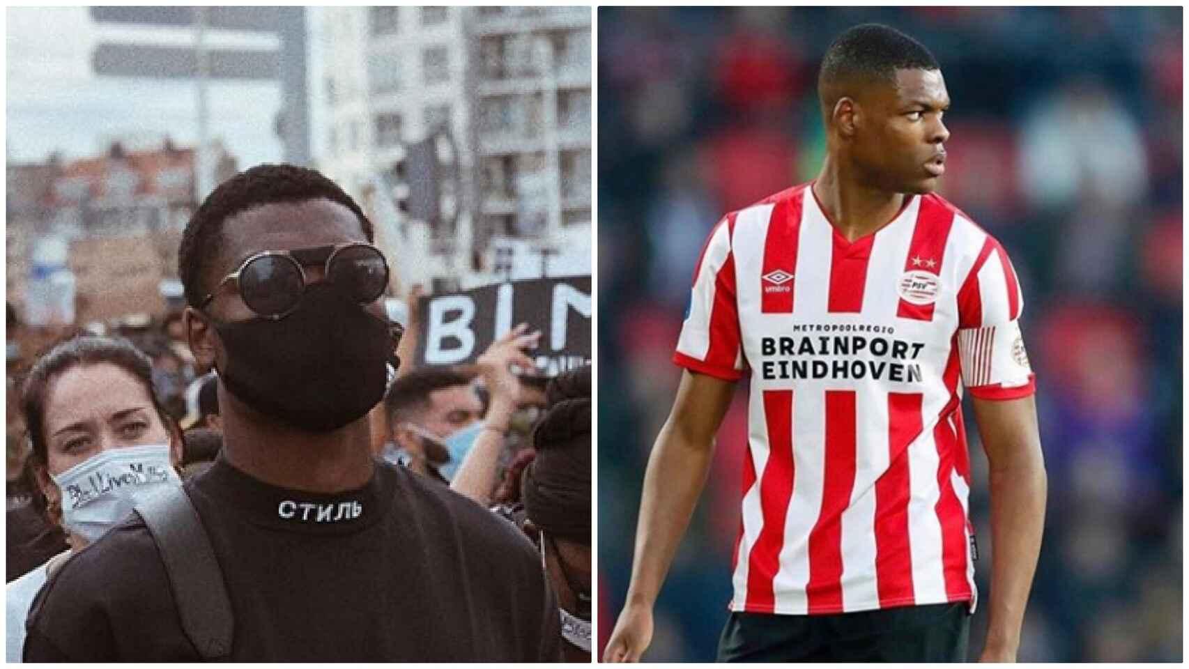 PSV separa a Denzel Dumfries de los entrenamientos grupales por ir a una protesta