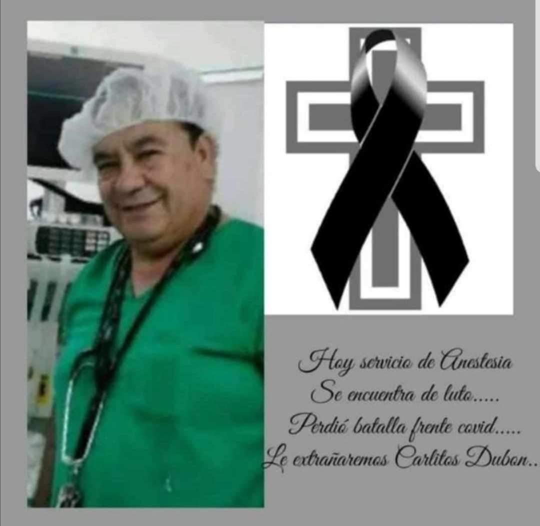 El covid-19 se cobra la vida de un anestesiólogo del IHSS de Tegucigalpa