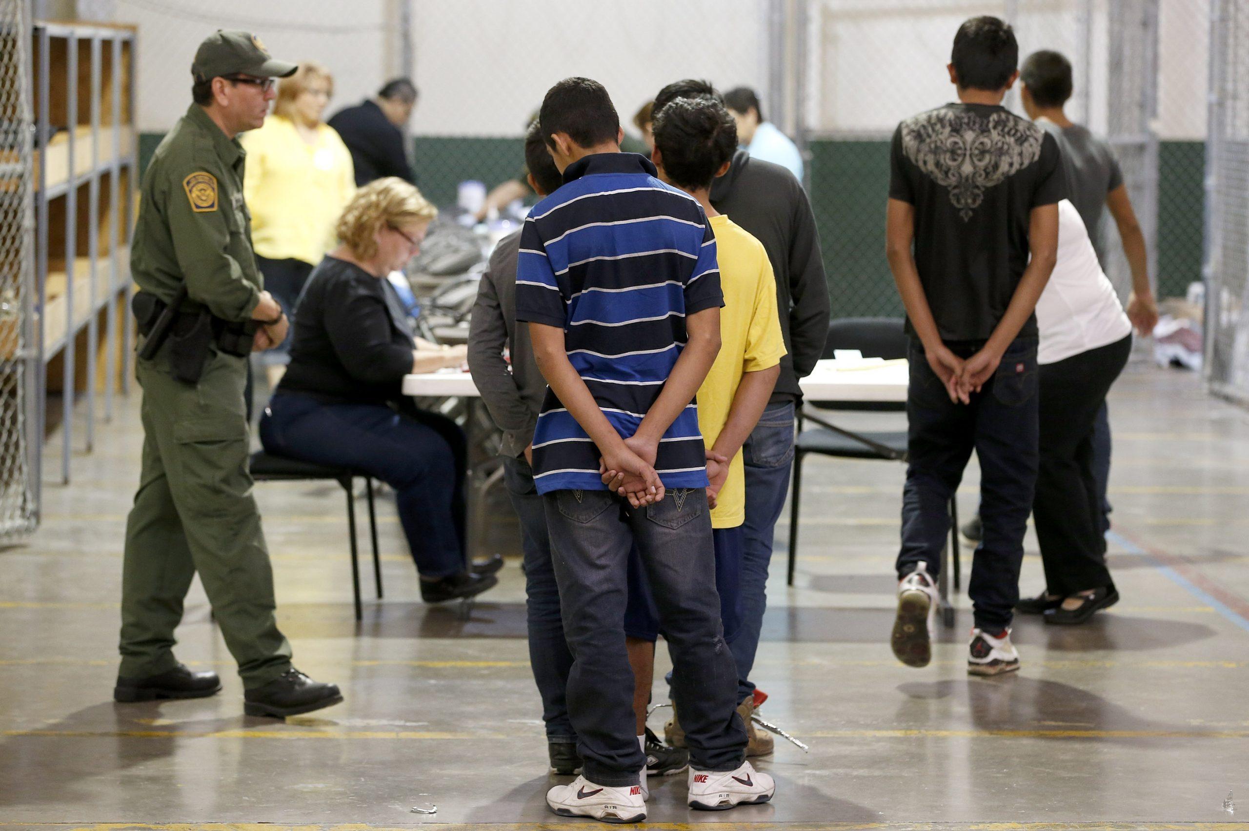 Deportación de menores de edad.