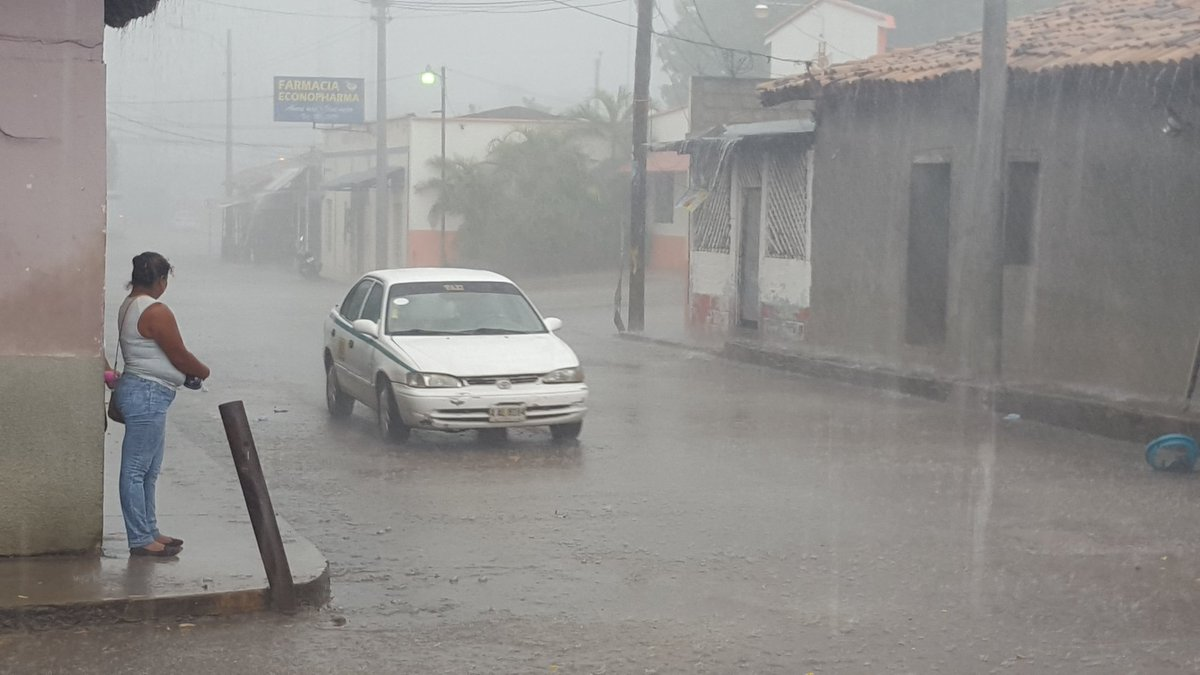 Por 48 horas más extienden alerta amarilla para diez departamentos de Honduras y el resto en alerta verde