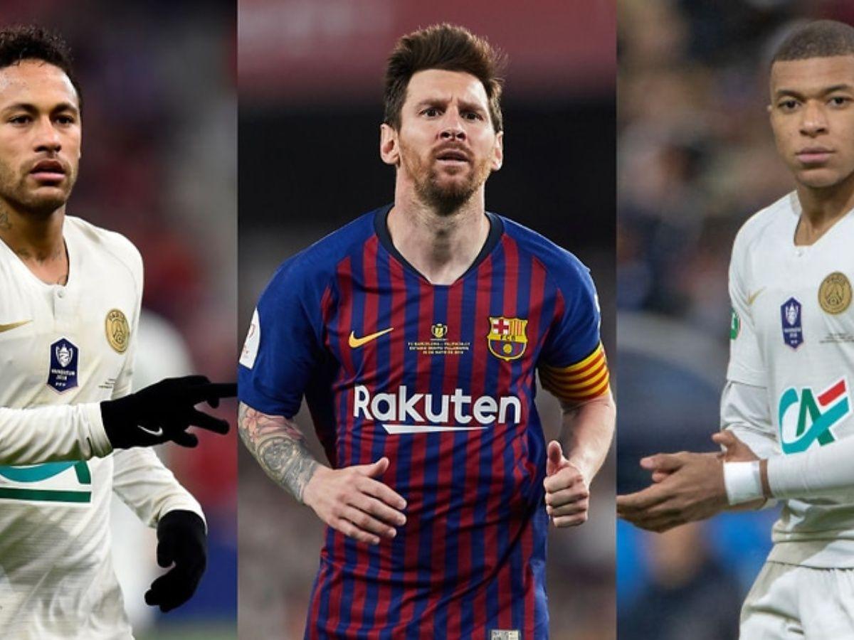 Viral: ¿Cómo lucirían Neymar, Messi y Mbappé si hubiesen jugado en el Mundial México 70?