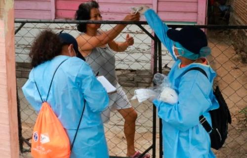 Mascarillas en Honduras