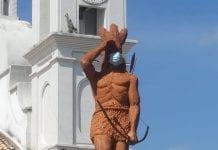 estatua lempira honduras