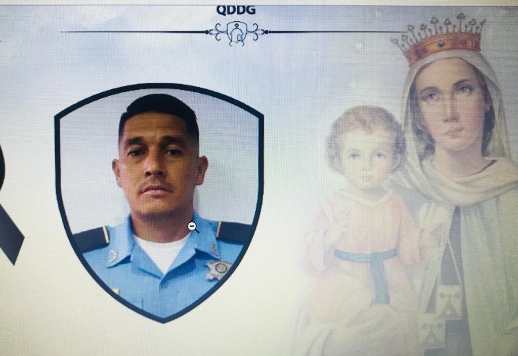 Fallece agente de policía asignado al esquema de seguridad del expresidente Lobo Sosa