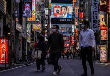 Japoneses en pandemia.