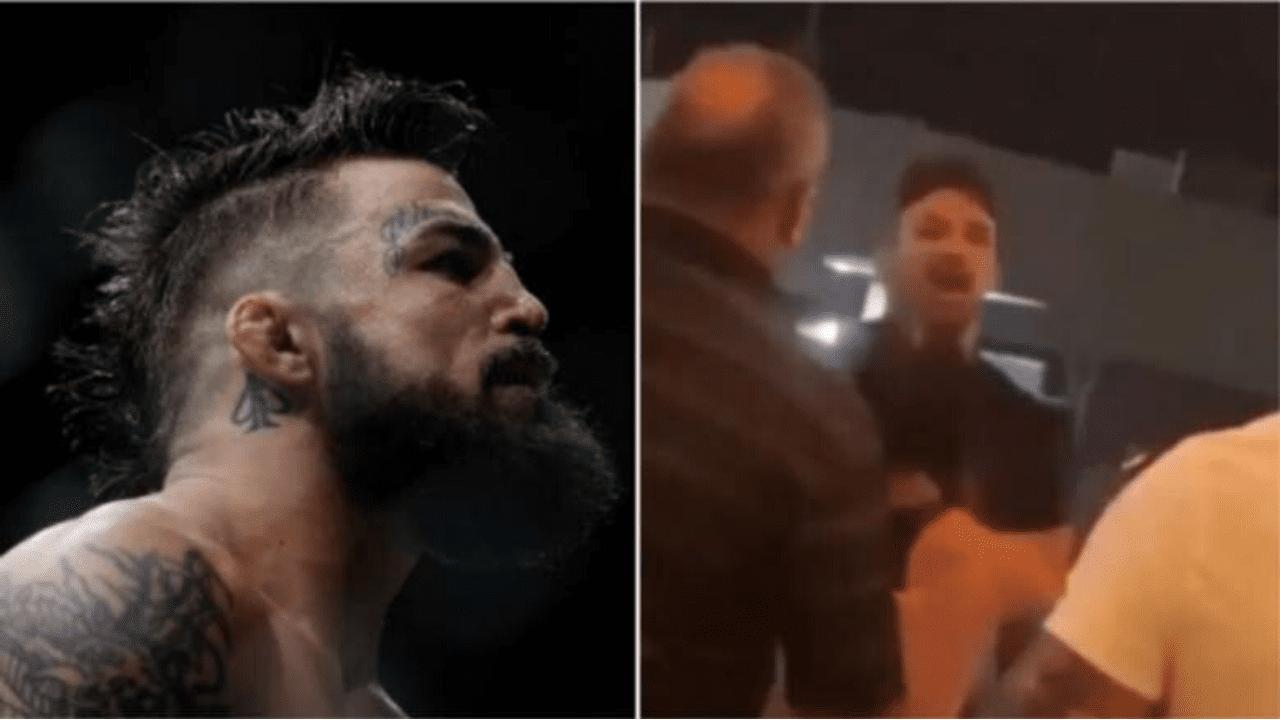 Luchador de UFC golpea a un hombre mayor en un restaurante y todo quedó grabado