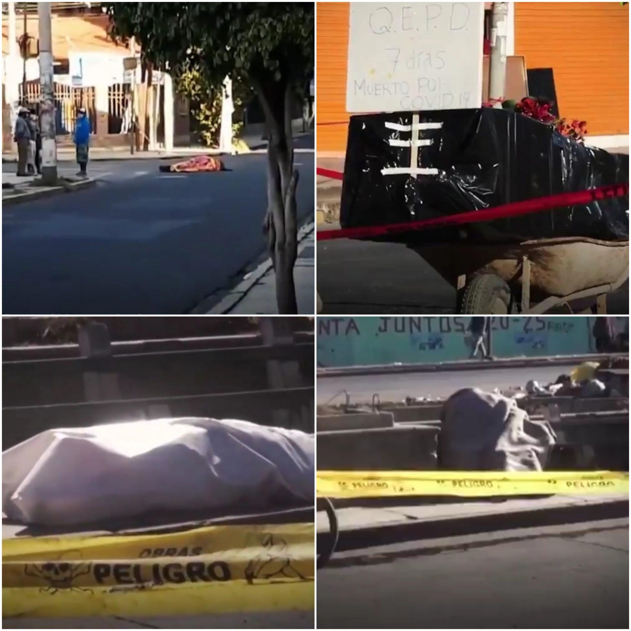 Muertos por covid-19 en las calles, Bolivia vive el drama de Ecuador a causa de la pandemia