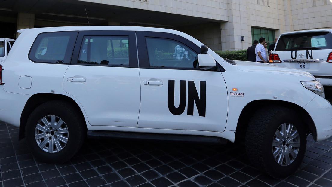 Dos empleados de la ONU fueron suspendidos por un video sexual en un vehículo