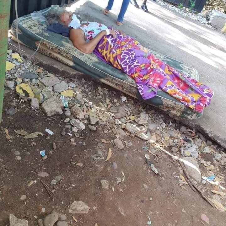 ¡Colapsados! Hospitales de Choluteca y El Paraíso sin camas, oxígeno, ni personal de salud