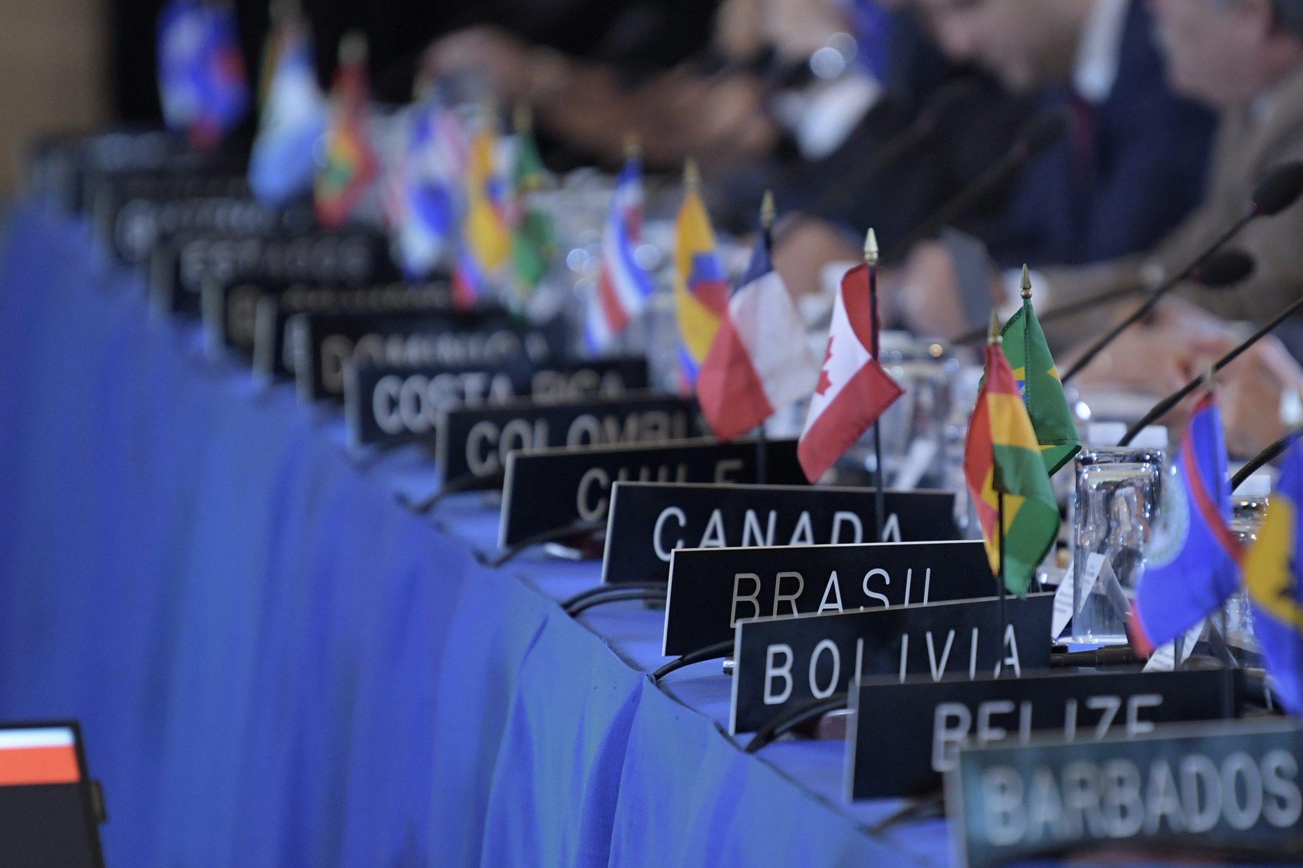 Honduras asume la Presidencia del Consejo Permanente de la Organización de los OEA