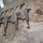 Decomisan armas en cárcel de tamara, honduras