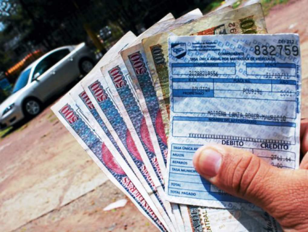 En cuotas y sin multas, así queda el pago de la matrícula vehicular en Honduras