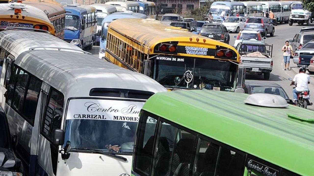 Transporte en Tegucigalpa se reactivaría con 15 rutas, todas en un mismo centro de operaciones, mira dónde será