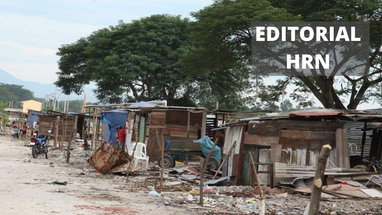 La pandemia del hambre,  desempleo y pobreza