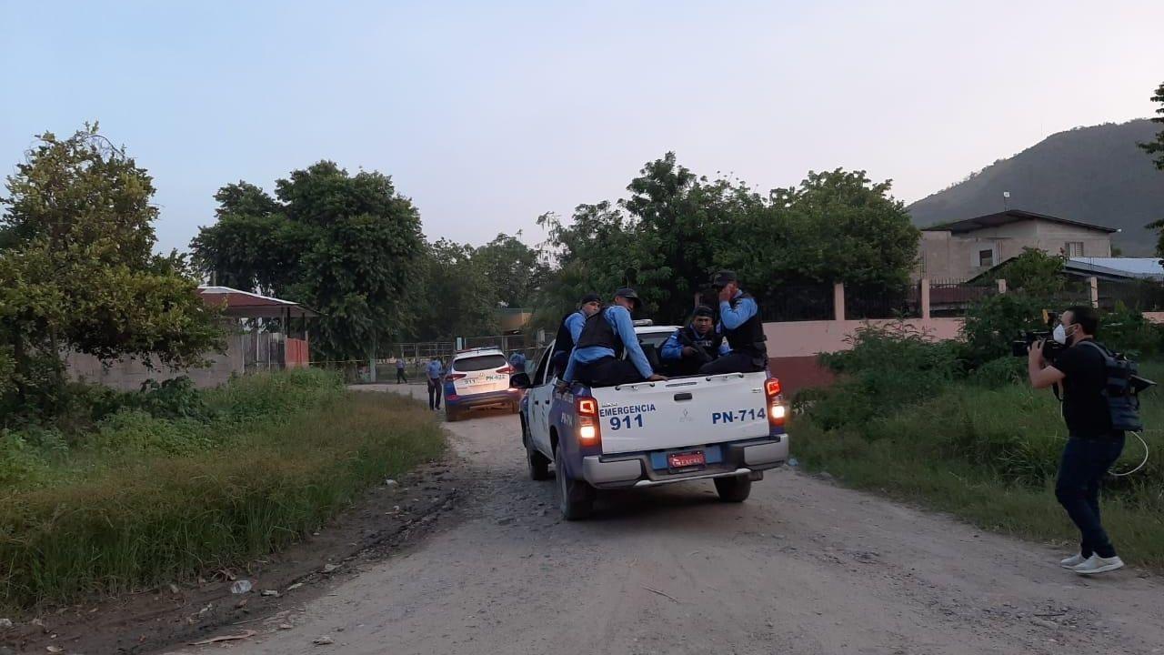 Policía muere durante enfrentamiento con supuestos pandilleros en San Pedro Sula