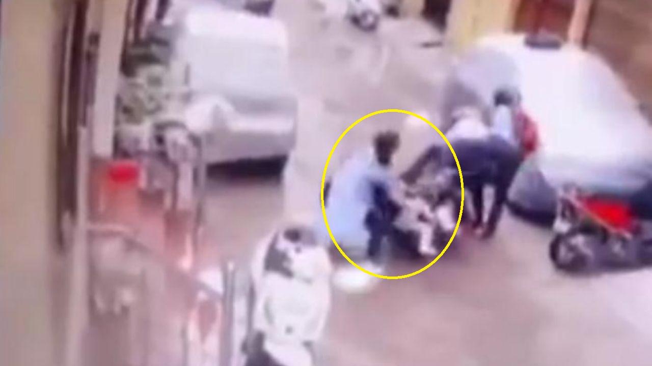 ¡Una guerrera! Mujer evita que secuestradores se lleven a su hija de 4 años, mira el video
