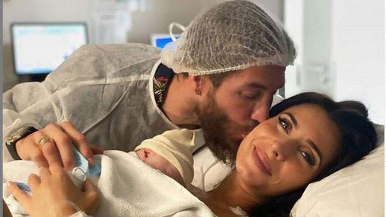 Sergio Ramos se convierte en padre por cuarta vez y el nombre de su hijo se volvió viral