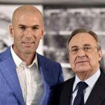 Zidane y Florentino Pérez