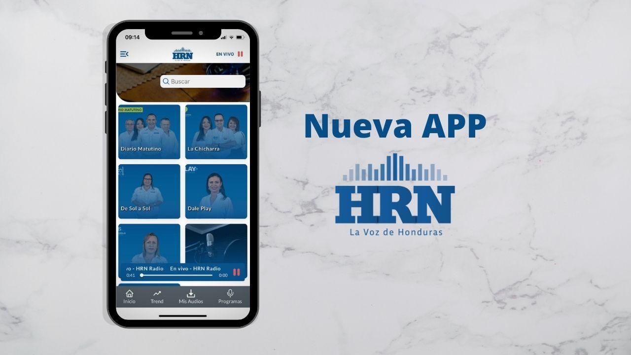 Nueva App de Radio HRN, con tecnología y diseño de clase mundial