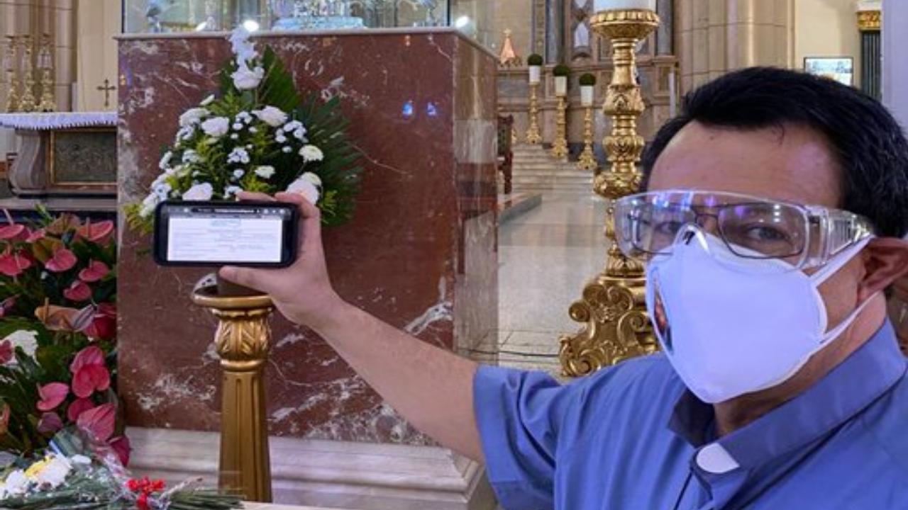 Padre Juan Ángel López vence el covid-19 y pide luchar para que hondureños tengan acceso a una salud digna