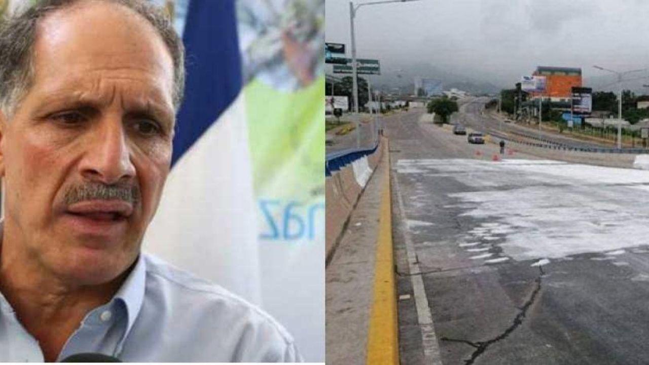 ¿Dónde está el dinero? Nasry 'Tito' Asfura niega que la alcaldía mande a borrar el mensaje sobre paso a desnivel en la capital