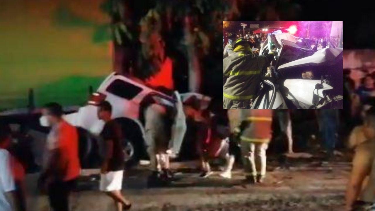 Una recién nacida, una niña de 6 años y otra de 14 mueren en accidente vial en el norte de Honduras