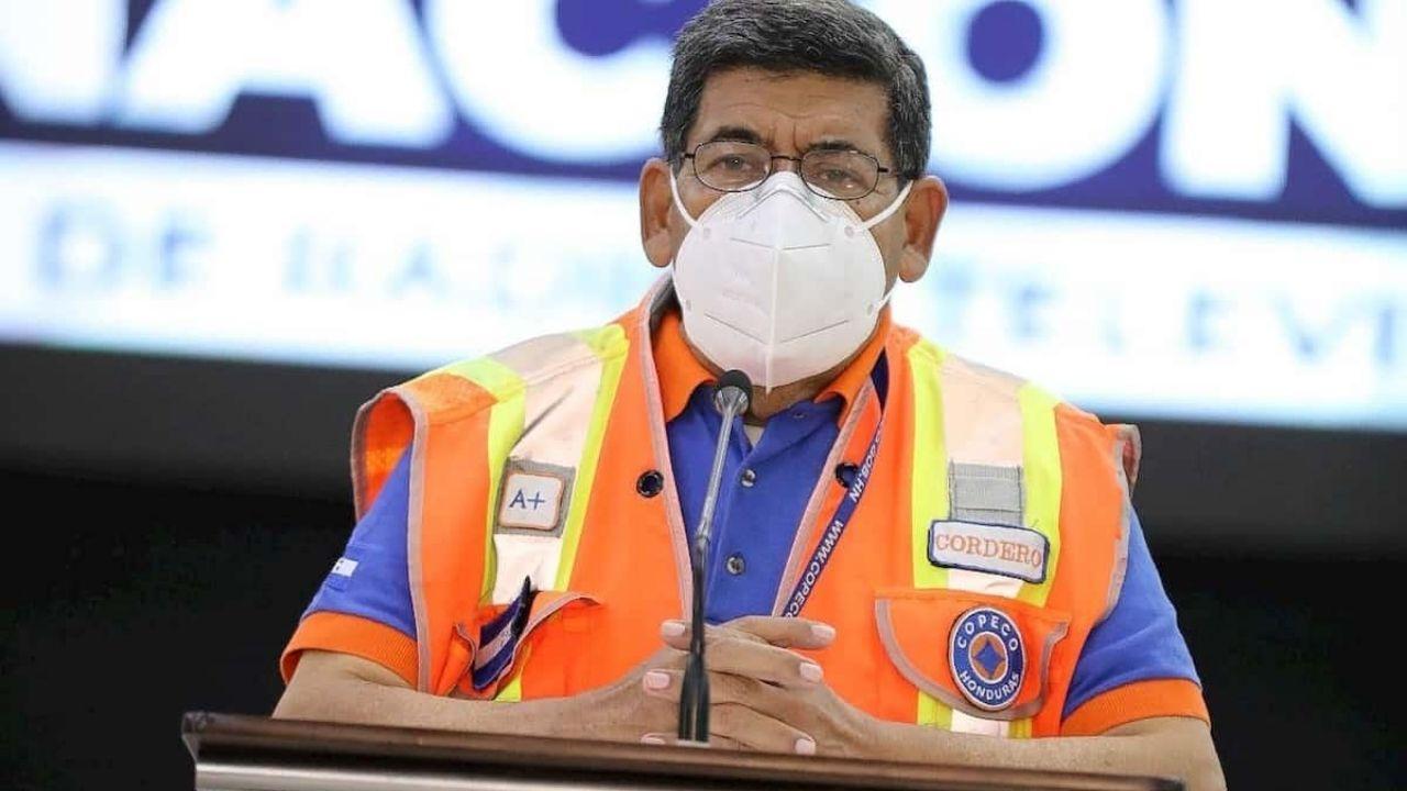 Hospitalizan por covid a Carlos Cordero, comisionado de Copeco, en El Tórax