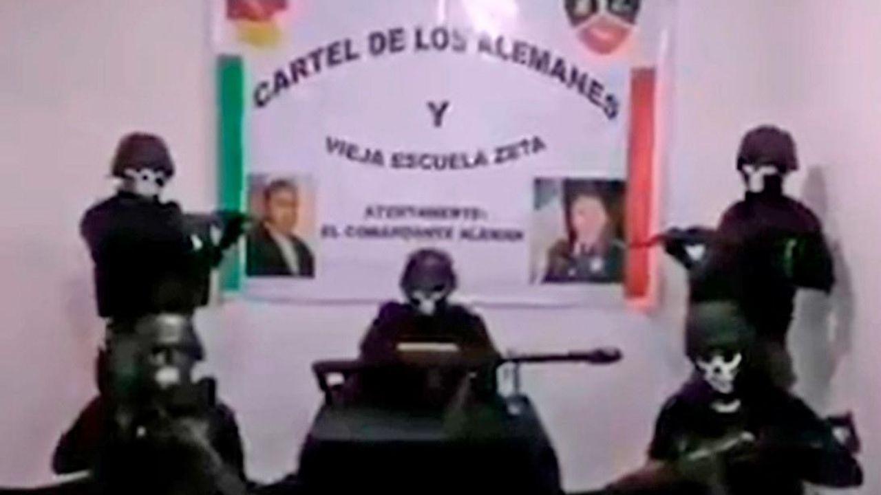 Un cártel mexicano difunde un video con graves amenazas a grupos rivales y a las autoridades