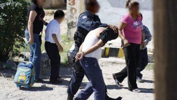 jóvenes detenidos