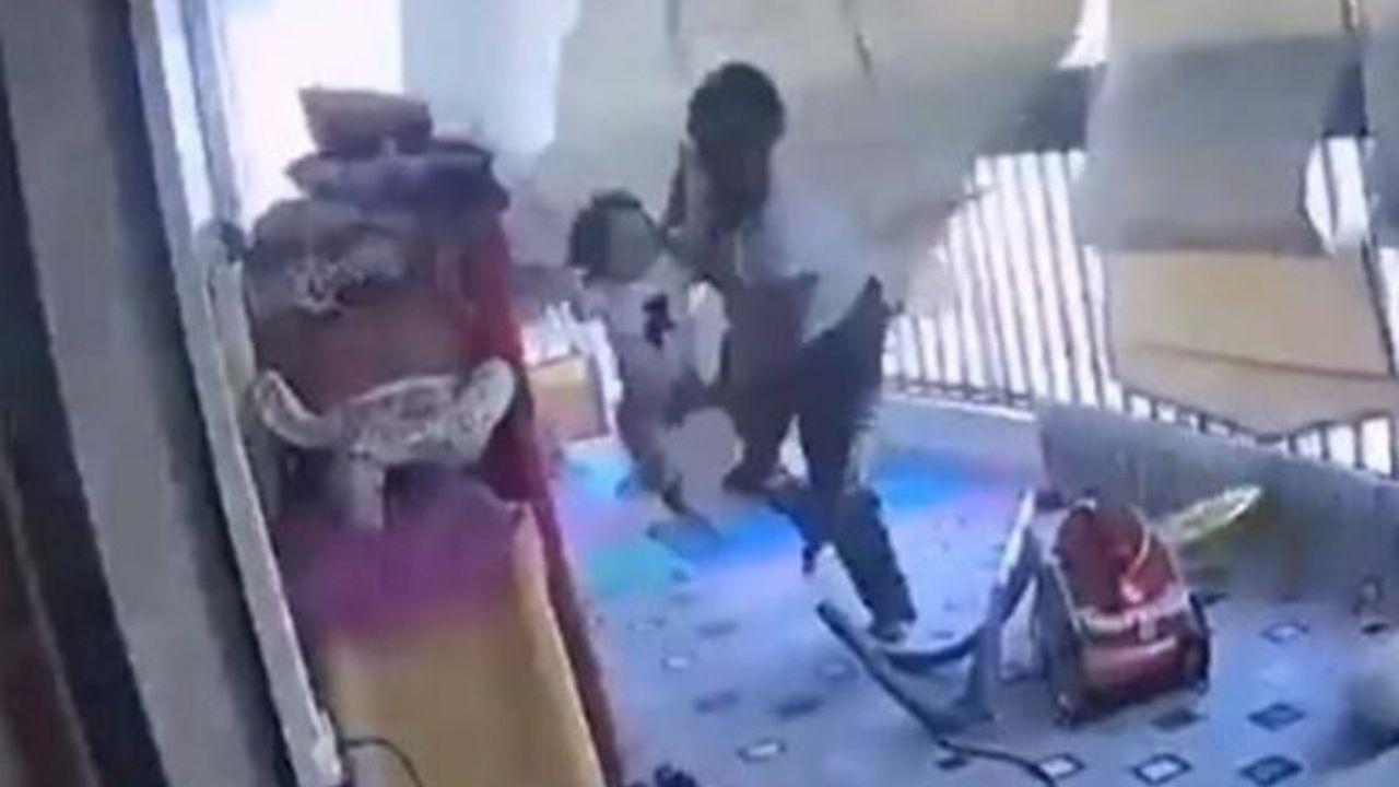 Madre protege a su hija de 3 años de explosión en Líbano, tenemos el vídeo