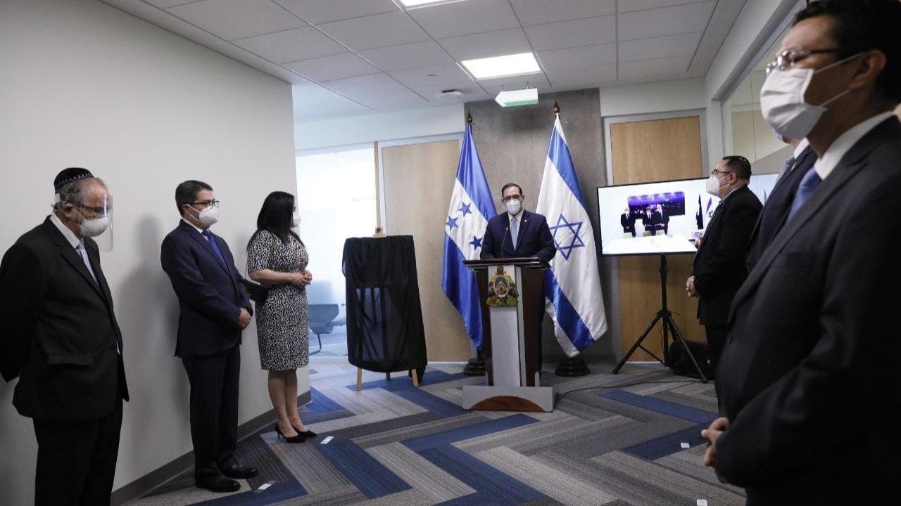 Honduras inaugura Oficina de Cooperación Israelí en el Centro Cívico Gubernamental