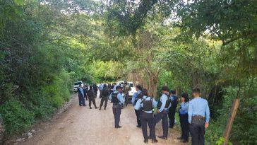 Policías realizan operativos