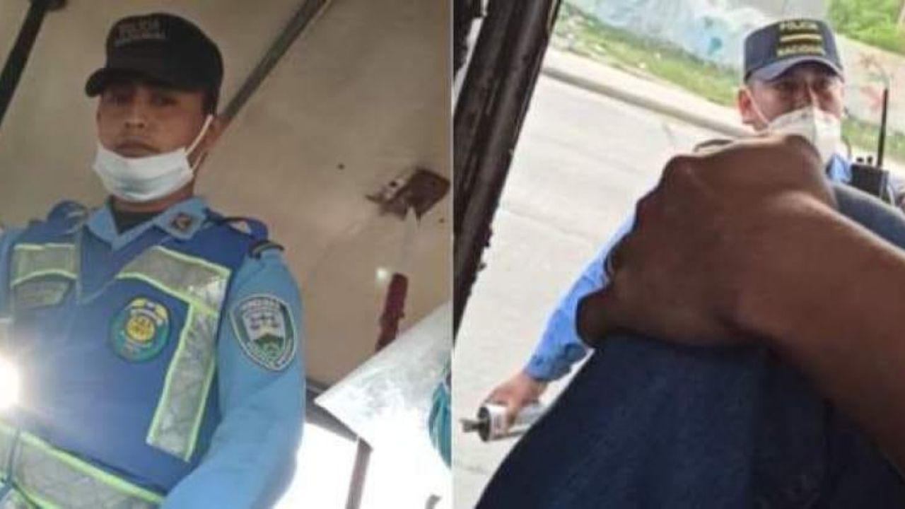 Código Penal beneficia a policía que lanzó bomba dentro de un bus y solo se le aplican medidas sustitutivas