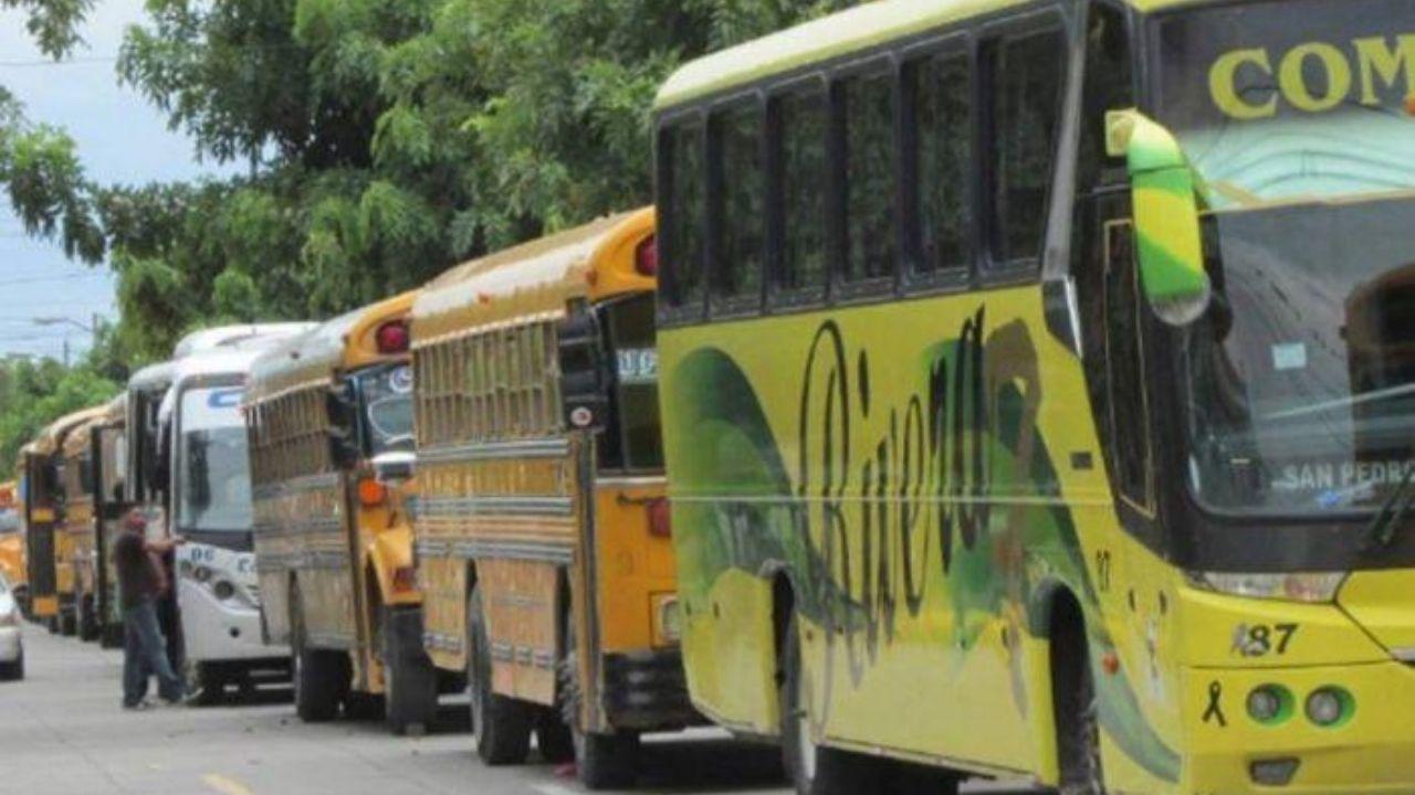 Tres reglas deberán seguir los usuarios del transporte interurbano en Honduras en reinicio de operaciones tras paro por la pandemia