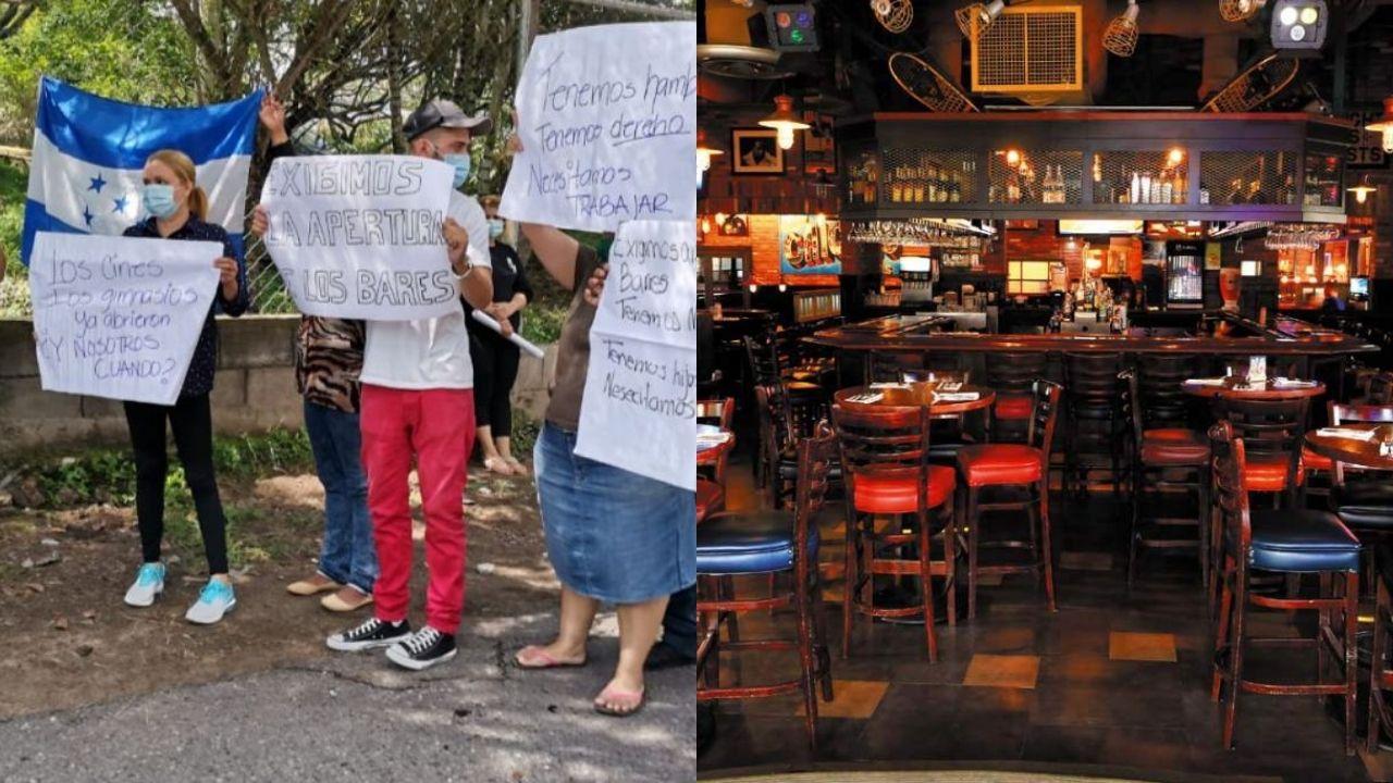 Dueños de bares exigen reapertura y prometen implementar estas medidas de bioseguridad
