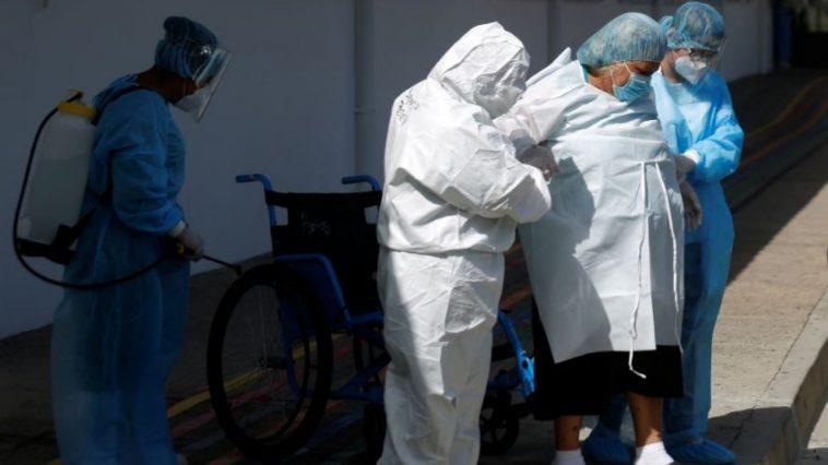 coronavirus el salvador centroamerica
