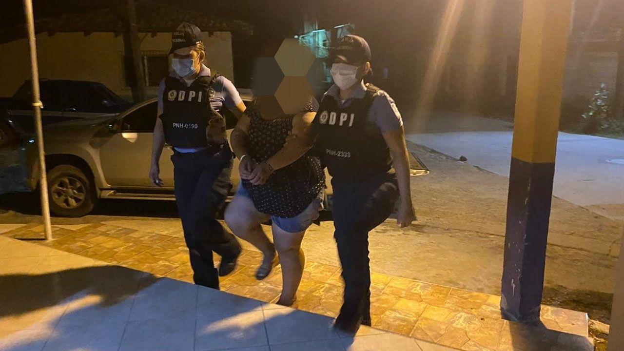 Hondureña supuestamente cegada por los celos asesinó a su esposo con una tijera en Choluteca
