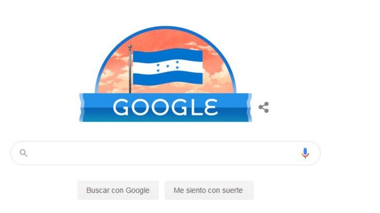 Google rinde homenaje a Honduras en su 199 aniversario de independencia patria