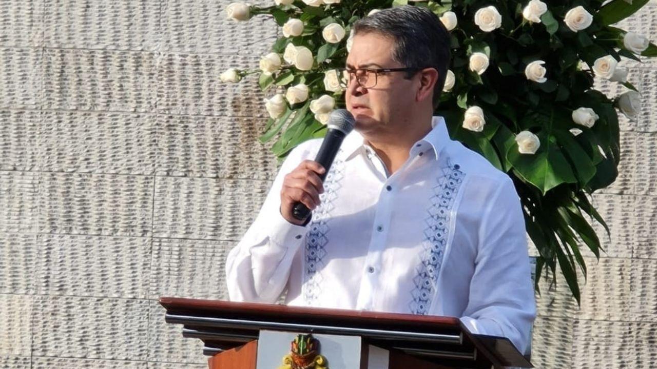 JOH: Somos más los hondureños que queremos construir una buena patria, con hechos, con resultados y con menos palabras