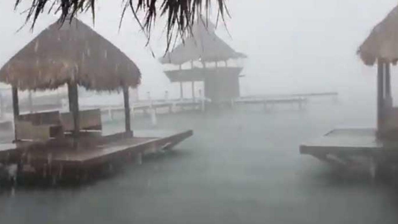 Seis departamentos de Honduras son los afectados por el paso de la tormenta tropical Nana
