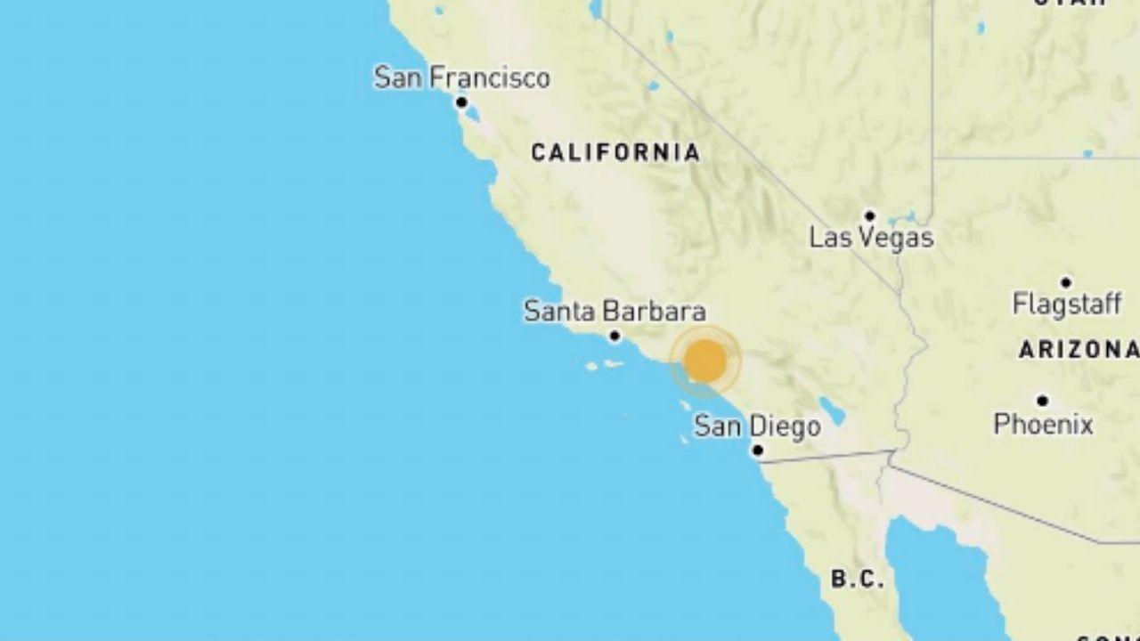 Video muestra el momento del sismo de 4.6 registrado en Los Ángeles