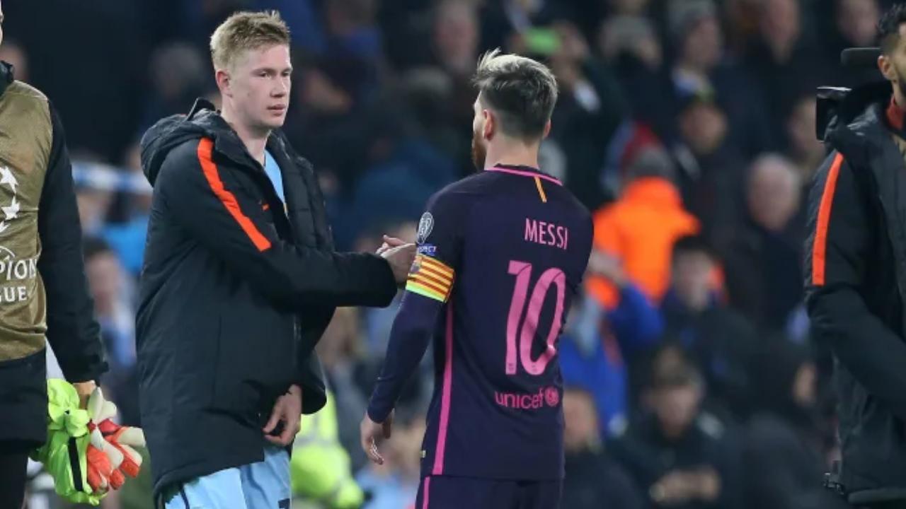 'Realmente no me importa': La inesperada respuesta de Kevin De Bruyne sobre rumor de que Messi llegaría al Manchester City