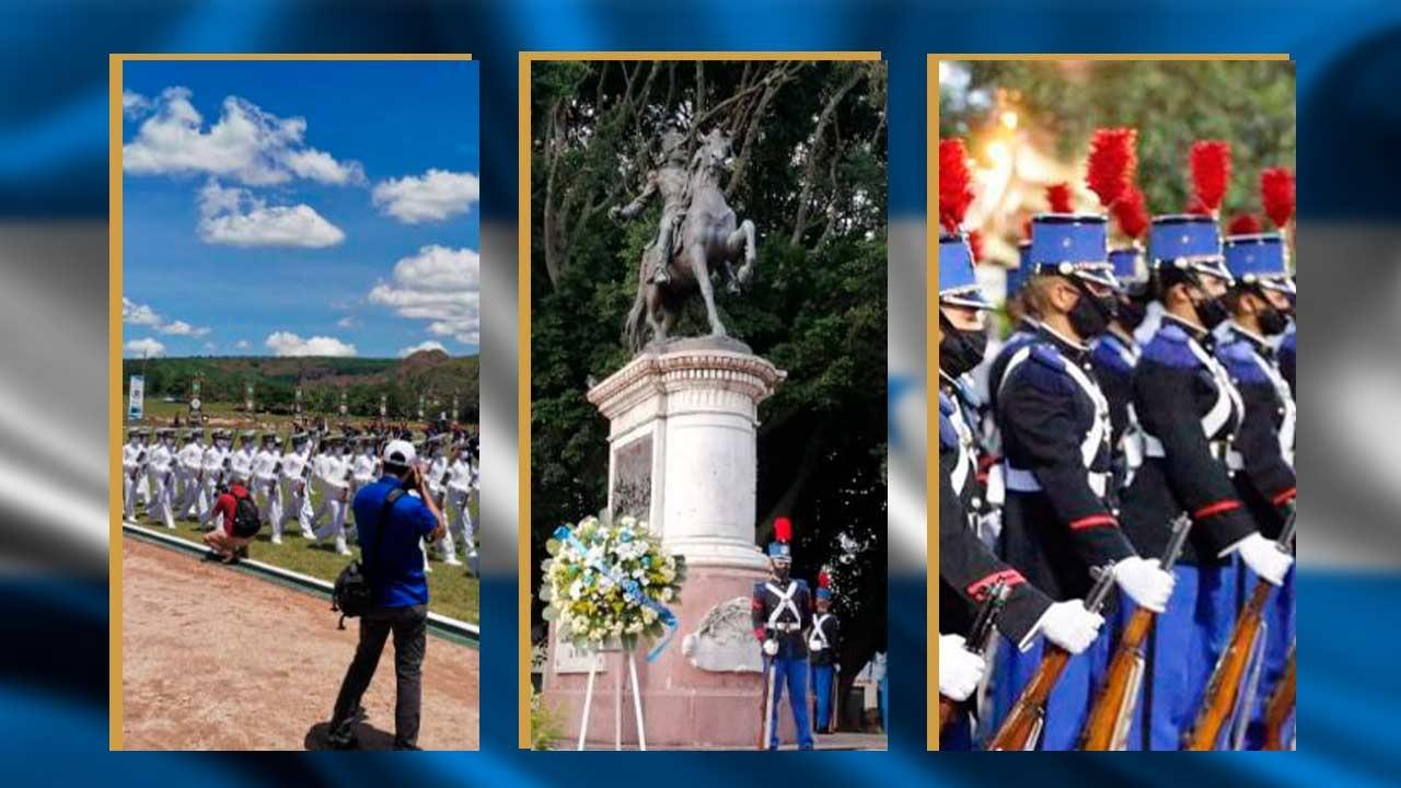 Imágenes y vídeos de cómo se han celebrado los 199 años de independencia en Honduras