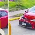 vehículo participa en accidente