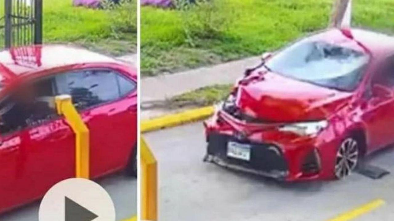 Conductor imprudente se hace cargo de gastos médicos tras atropellar a familia hondureña