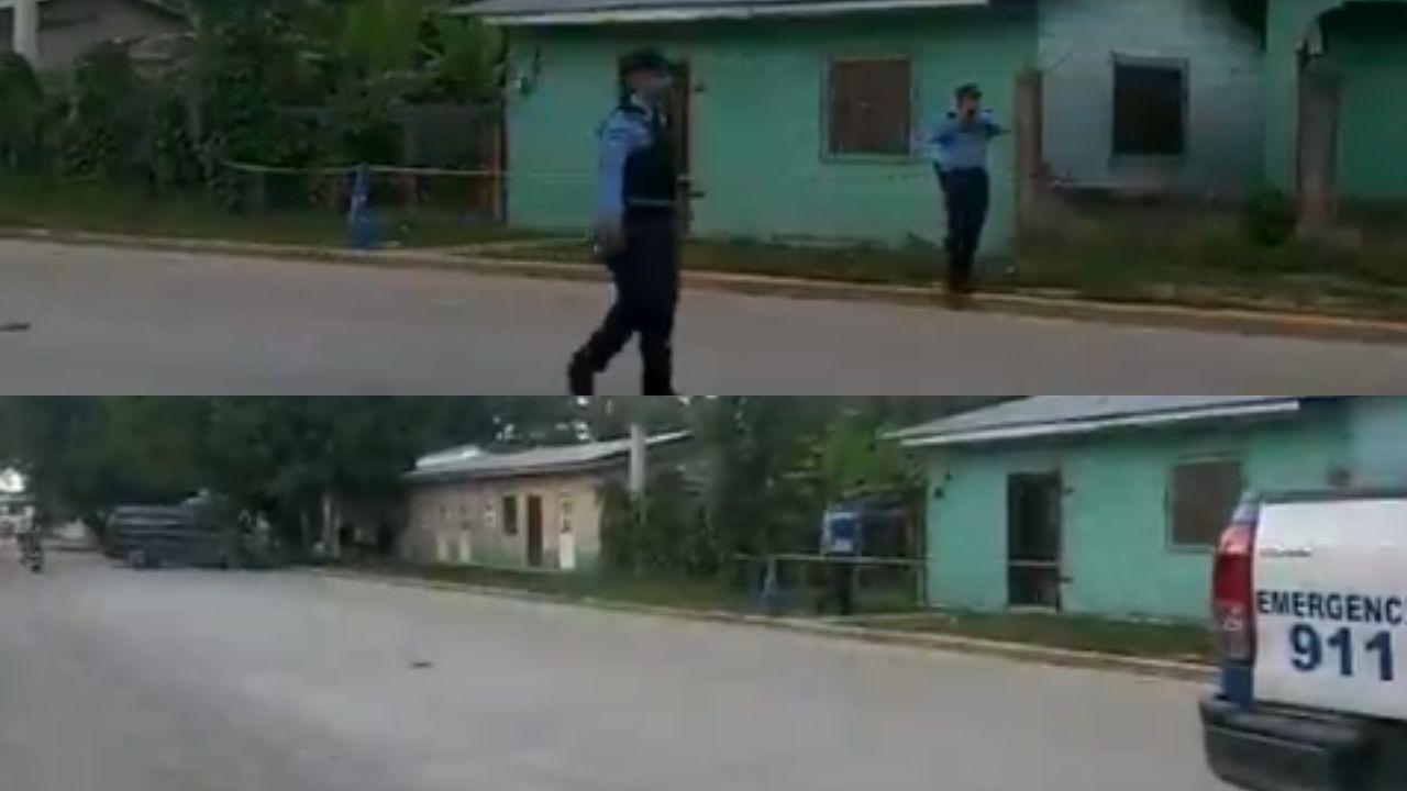 Video muestra la escena del crimen en muerte de colombiano y un argentino herido en Honduras