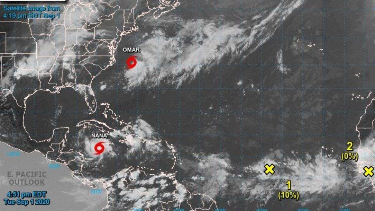 Tormenta Nana podría convertirse en huracán al tocar territorio hondureño el miércoles